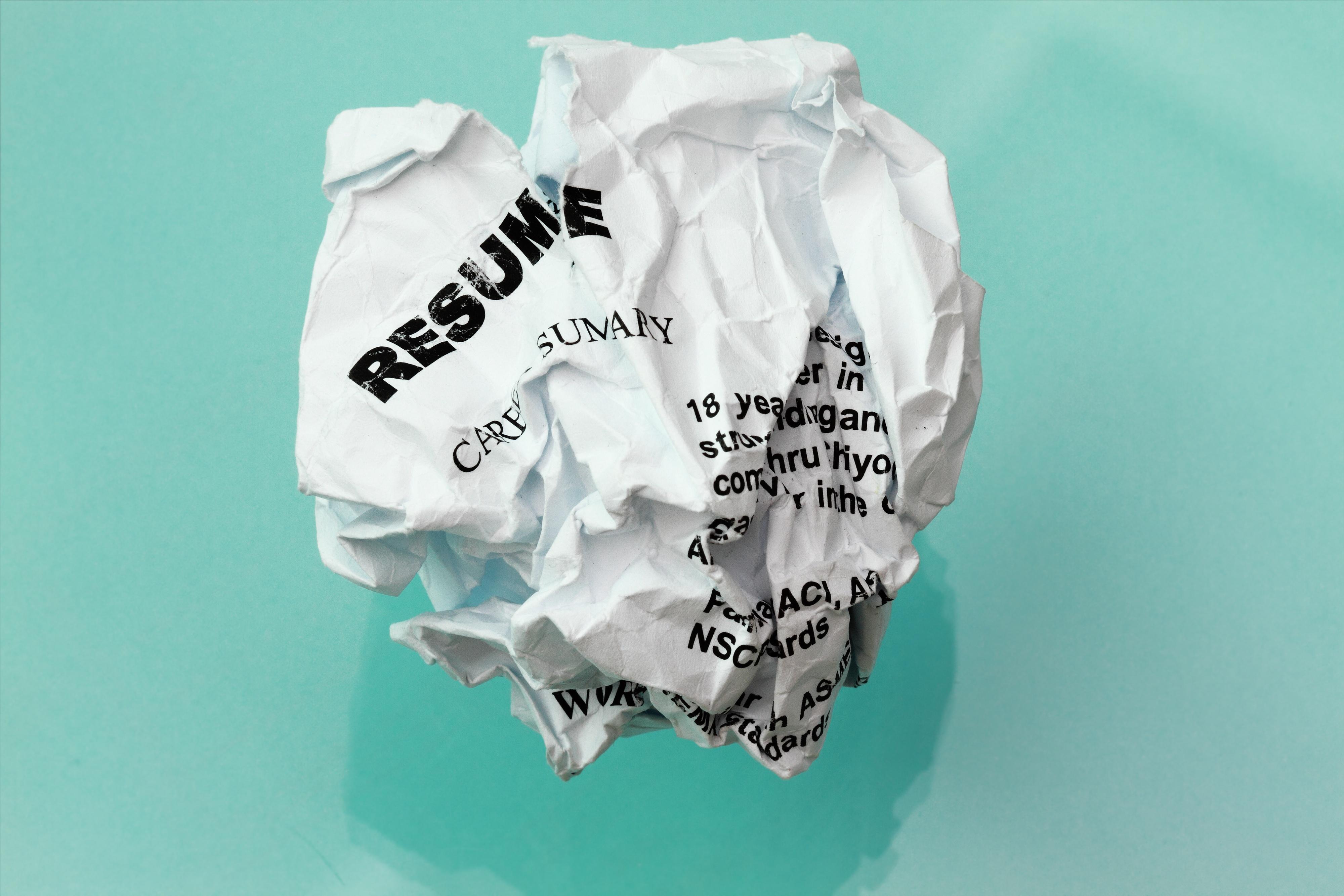 Resume do-over