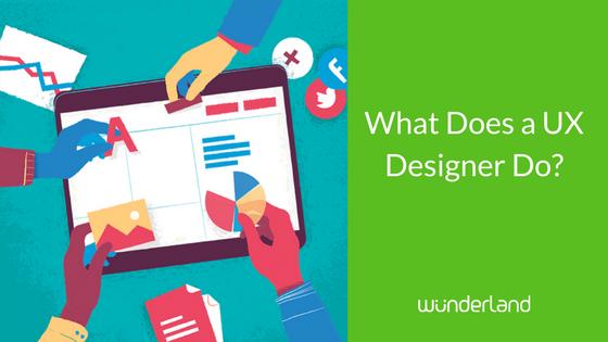 What Does a UX Designer Do | WunderLand Group
