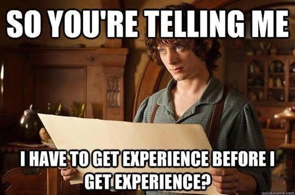 no job experience